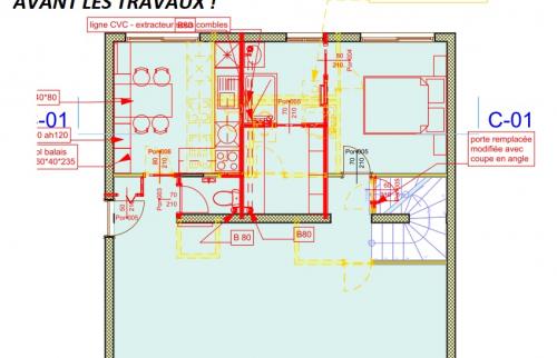 Plan de démolition/construction (Draveil 91210)