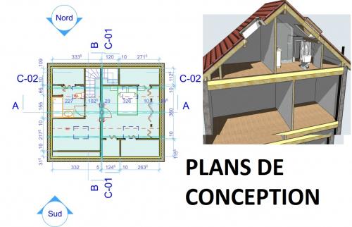 Plan de conception (Montgeron 91230)