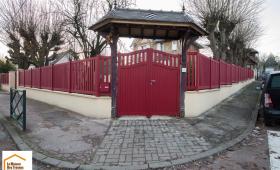 Grande clôture de 50m (Montgeron 91230)