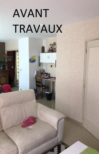 Salon avant travaux (Draveil 91210)