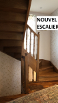 Nouvel escalier (Montgeron 91230)
