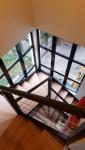 Escalier rénové sur verrière (Montgeron 91230)