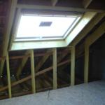 Création d'une fenêtre de toit dans le cadre d'un aménagement de combles